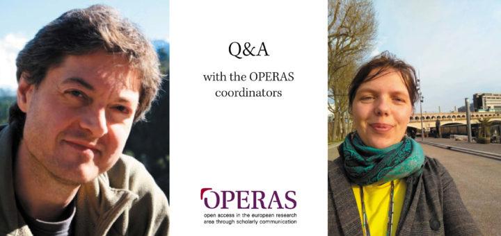 Q&A OPERAS coordinators