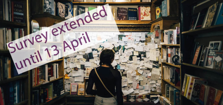 Survey extended: 13 April 2020