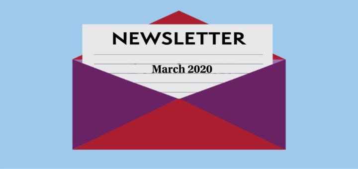 Newsletter March 2020