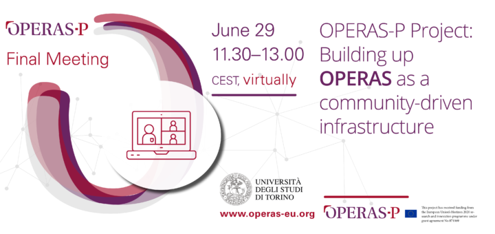 Buildin up OPERAS as a community-driven infrastructure