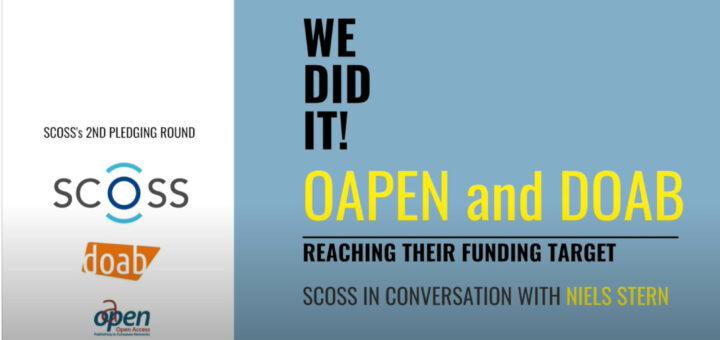 DOAB OAPEN Funding Interview